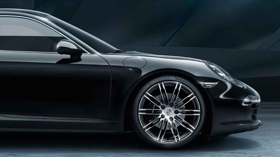 Porsche 911 Black Edition detalle