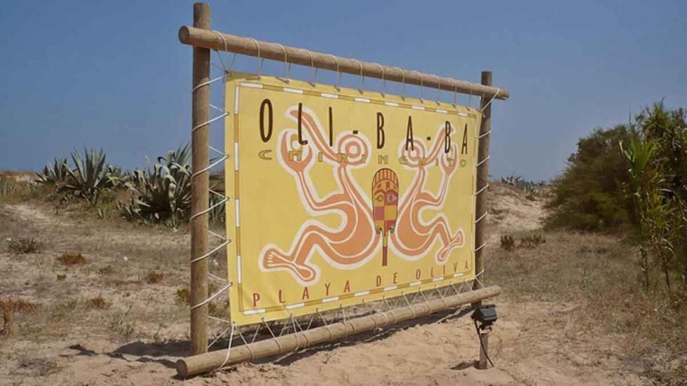 Playa de Oliva.