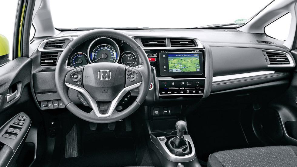 Prueba: Honda Jazz 2015 puesto de conducción