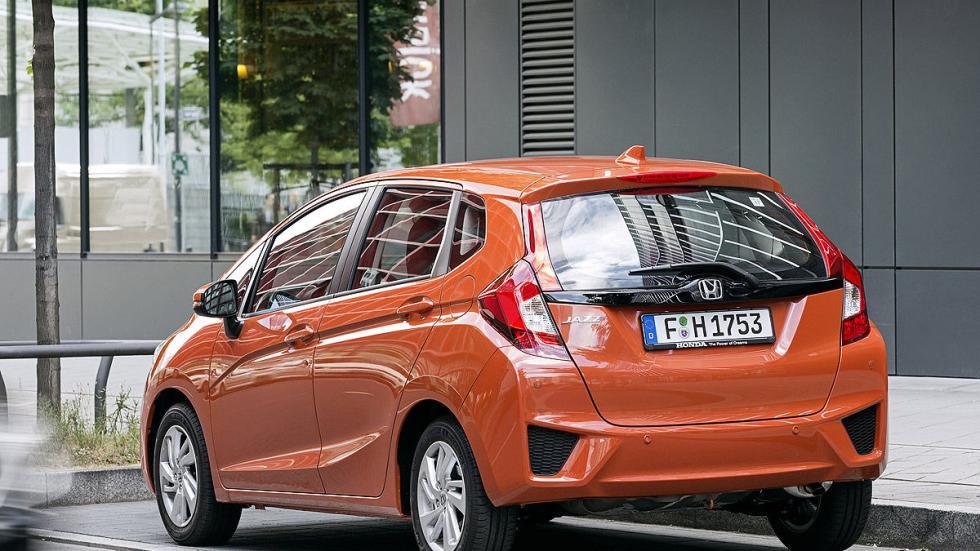Prueba: Honda Jazz 2015 puesto zaga