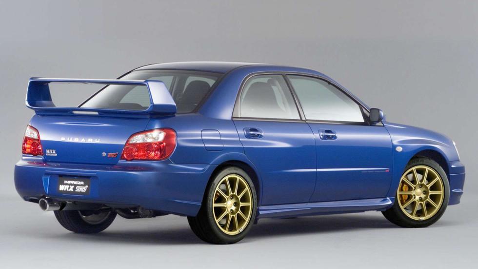 Subaru Impreza STI trasera