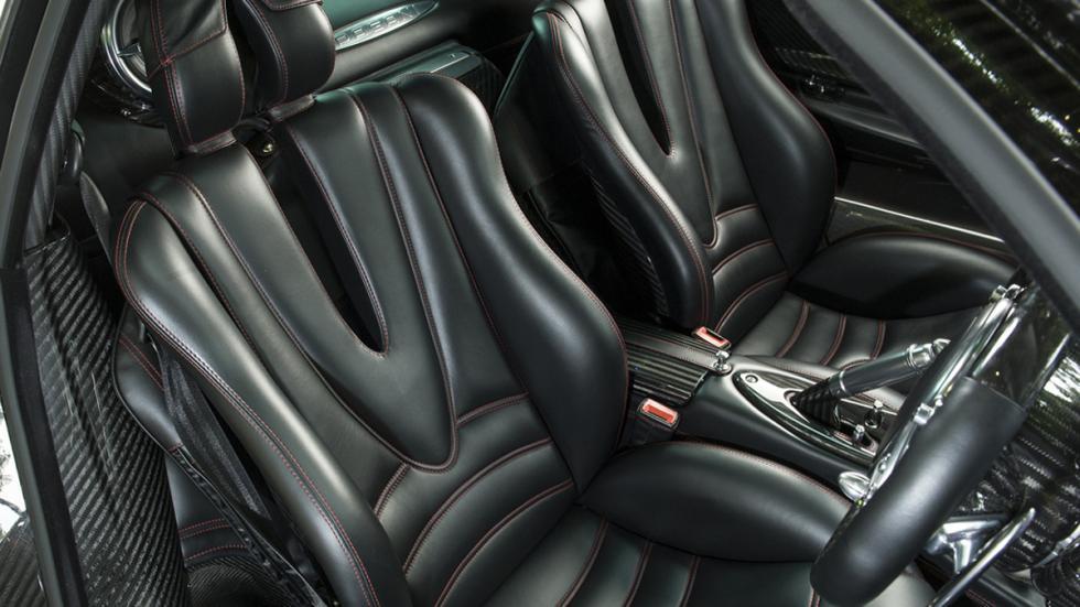Pagani Huayra asientos