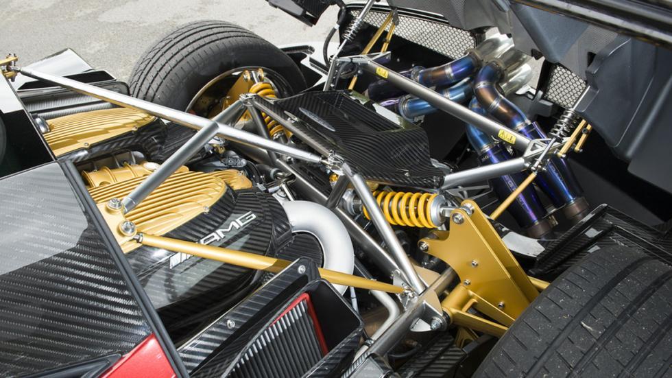 Pagani Huayra motor