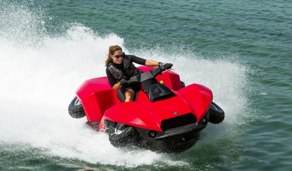 Quadski Gibbs moto anfibia
