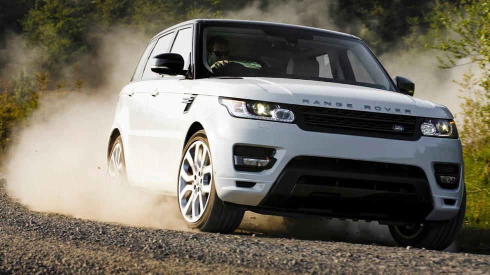 10 coches preferidos futbolistas Reino Unido Range Rover Sport