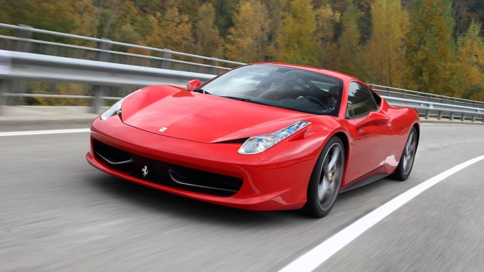 10 coches preferidos futbolistas Reino Unido Ferrari 458 Italia