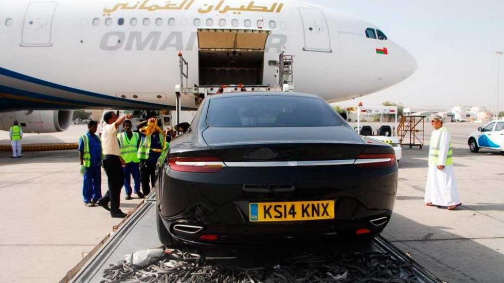 Aston Martin Lagonda trasera