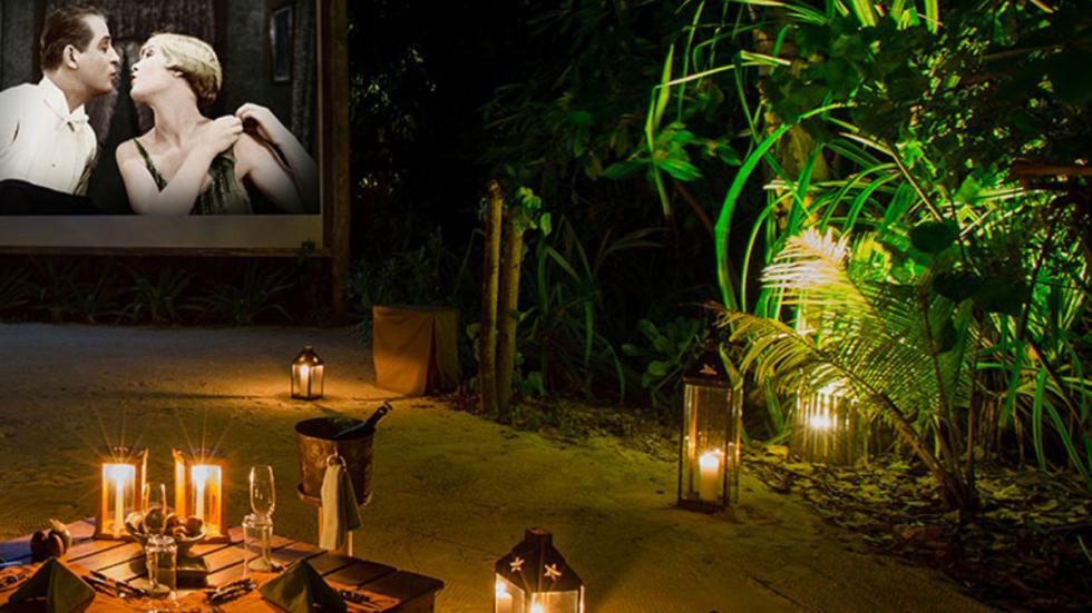 mejores hoteles del mundo Gili Lankanfushi Maldives cine jungla