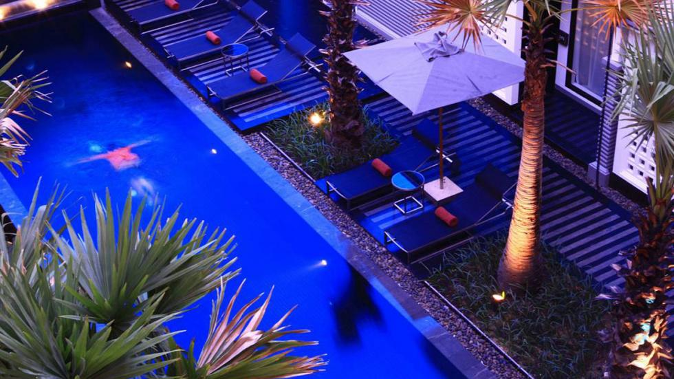 mejores hoteles del mundo Shinta Mani Club piscina