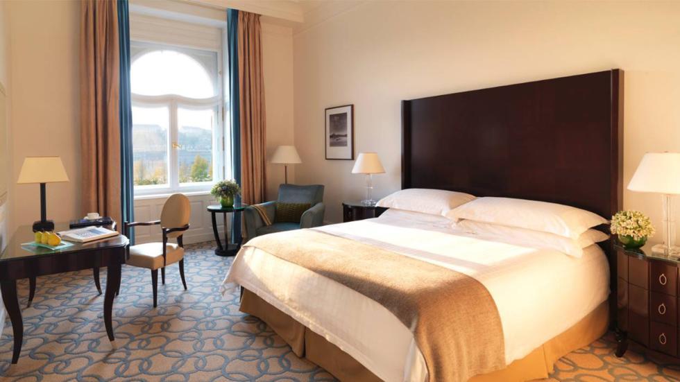 mejores hoteles del mundo Four Seasons Hotel Gresham Palace Budapest habitación