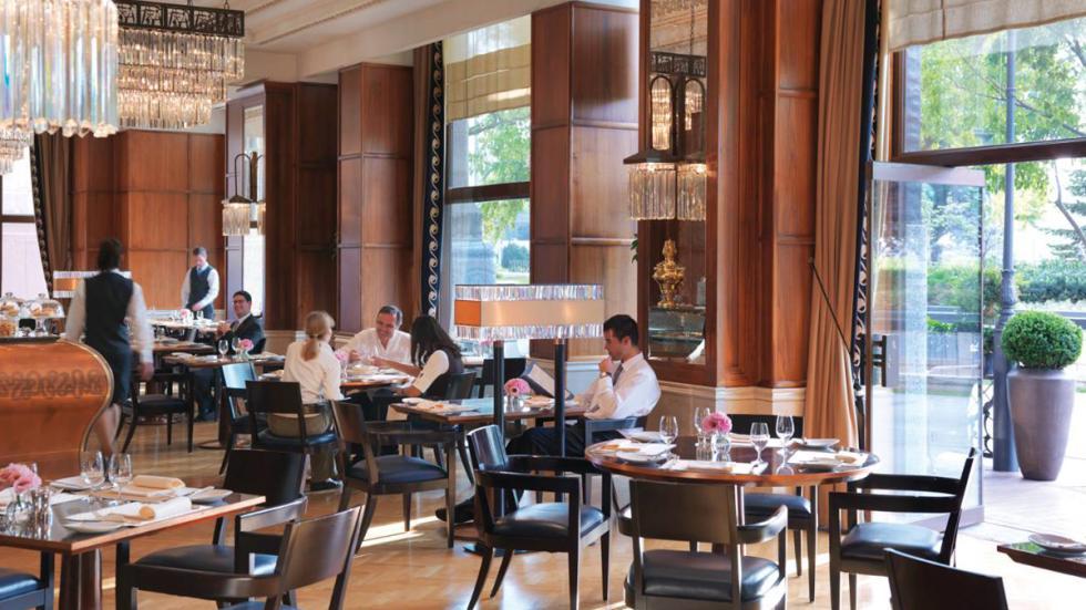 mejores hoteles del mundo Four Seasons Hotel Gresham Palace Budapest café