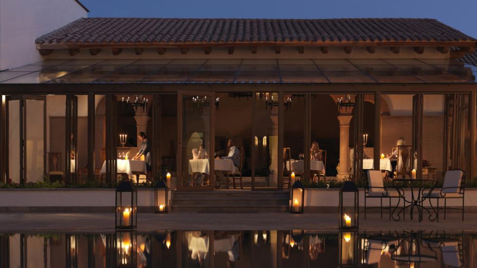 mejores hoteles del mundo Belmond Palacio Nazarenas restaurante