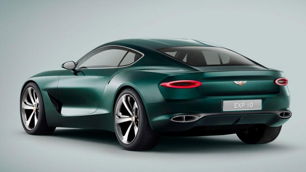 Bentley EXP 10 Speed 6 Concept tres cuartos traseros