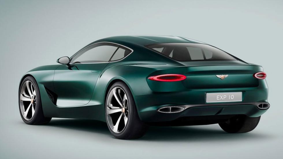 Bentley EXP 10 Speed 6 Concept tres cuartos traseros
