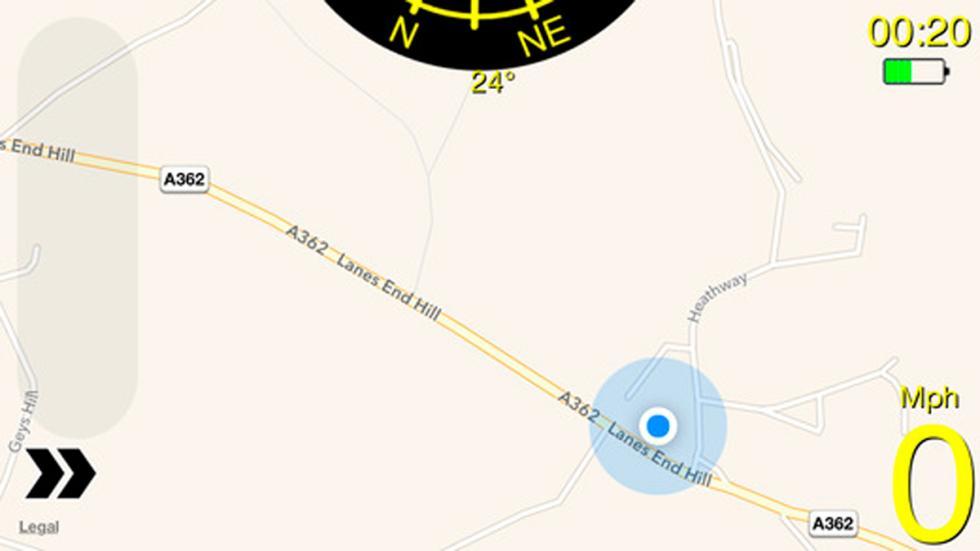 Cinco app que debe tener todo amante de los coches - Witness mapa