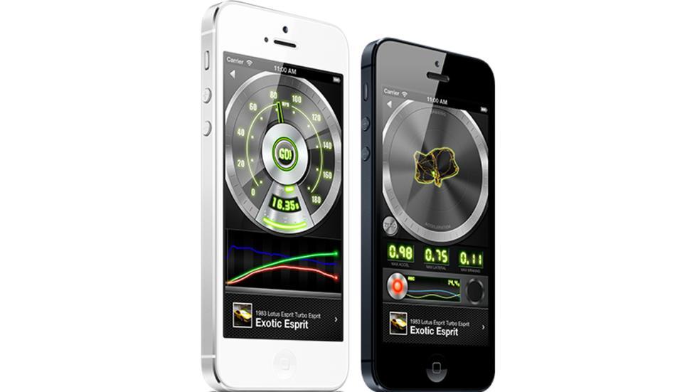 Cinco app que debe tener todo amante de los coches - Dynolicious Fusion móviles