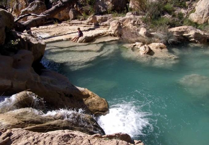 Piscina natural Las Chorreras