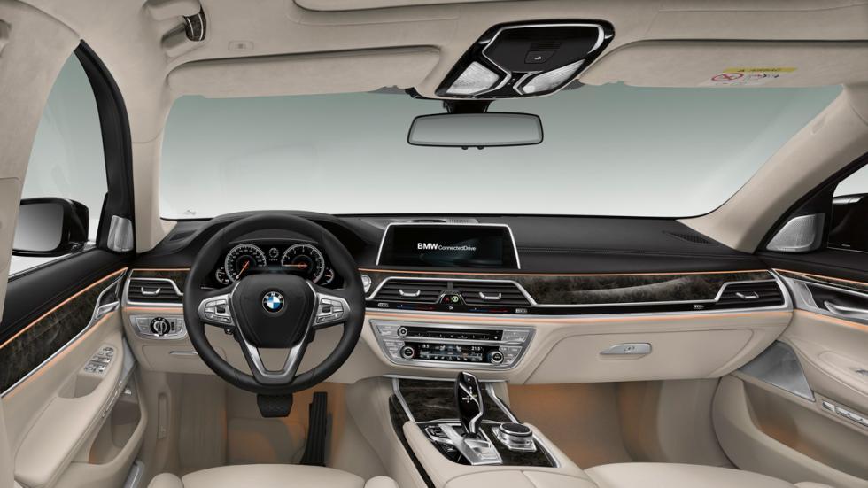 BMW Serie 7 2015 salpicadero