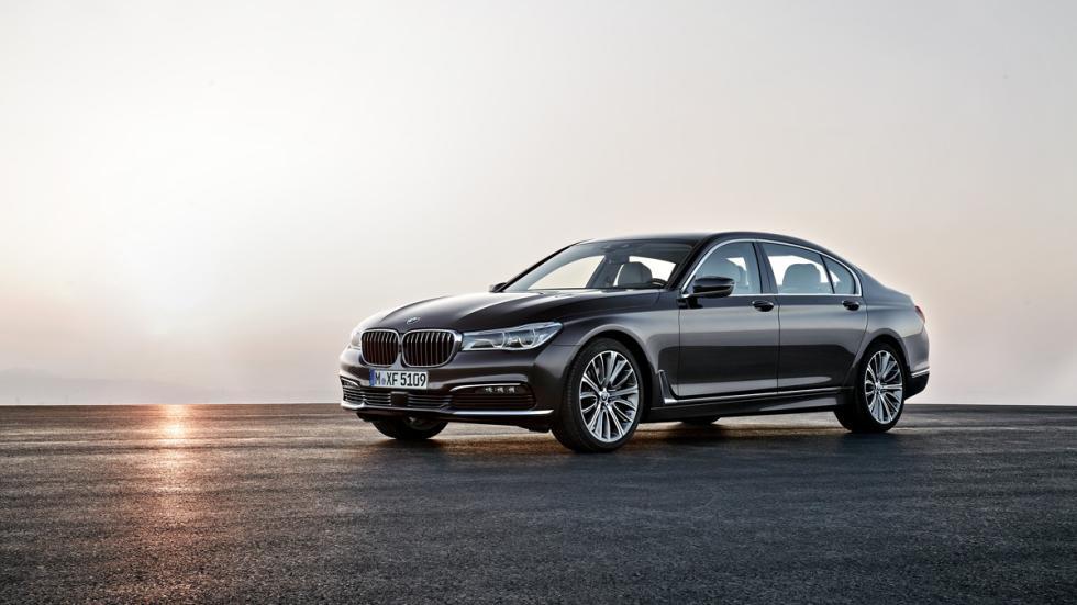 BMW Serie 7 2015 tres cuartos delanteros