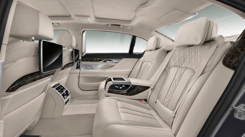 BMW Serie 7 2015 asientos traseros
