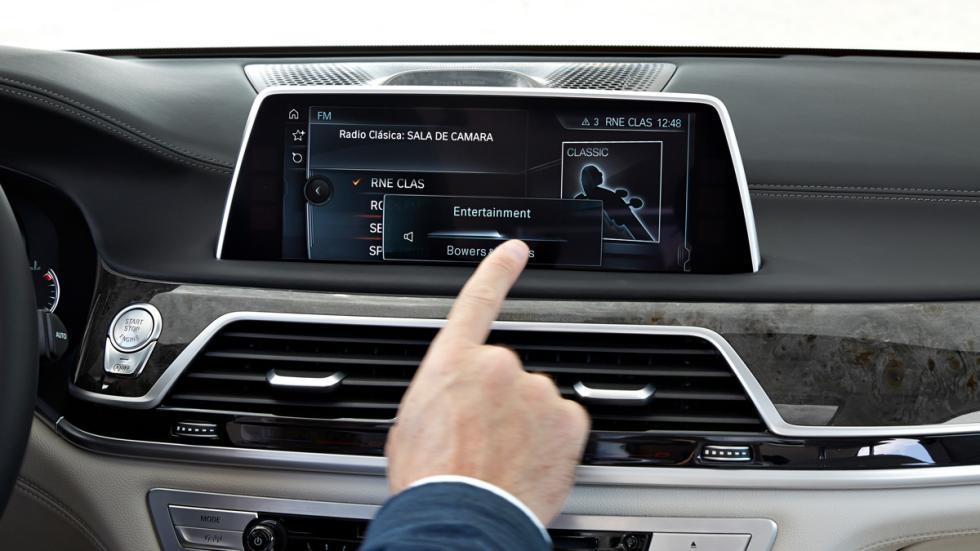 BMW Serie 7 2015 pantalla
