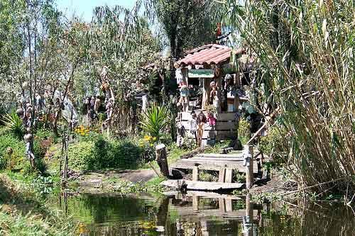 Isla de las Muñecas, en México