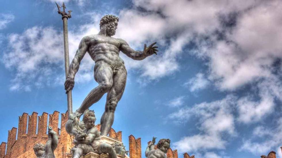 Estatua de Neptuno, en Bolonia