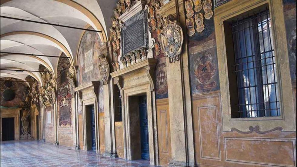 Archiginnasio, en Bolonia