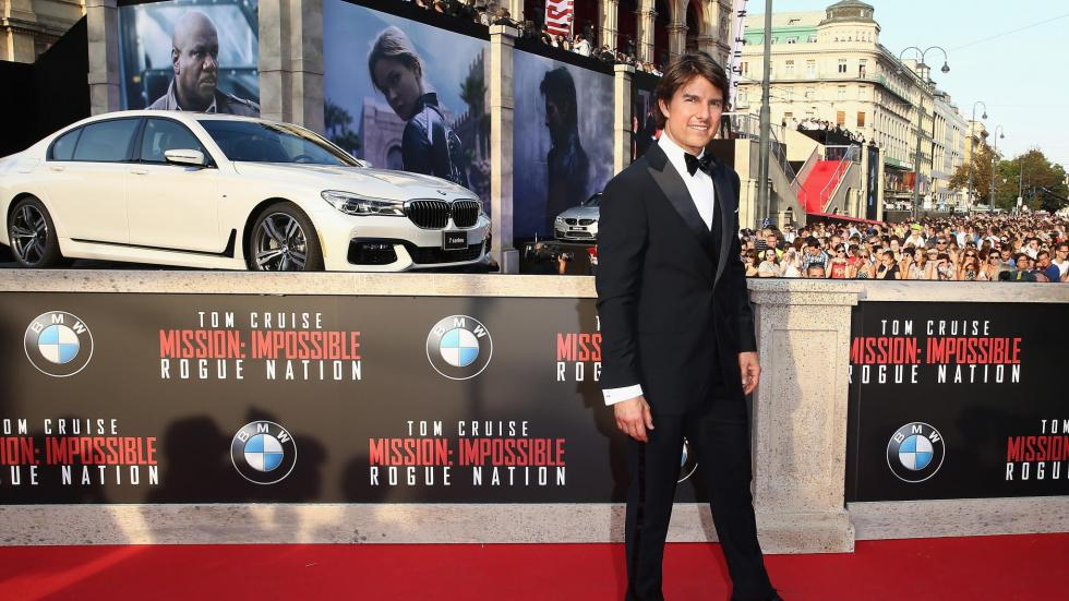 Tom Cruise BMW Serie 7