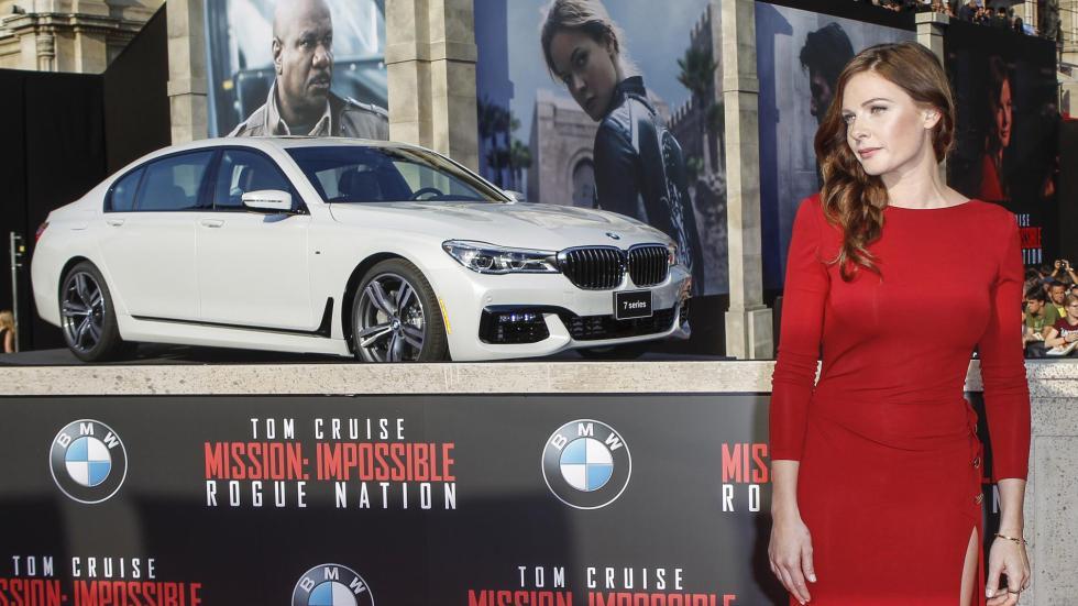 BMW Serie 7 Rebecca Ferguson
