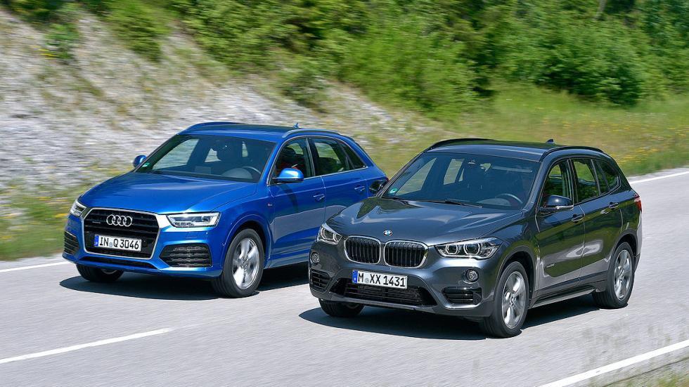 Cara a cara: BMW X1 vs Audi Q3