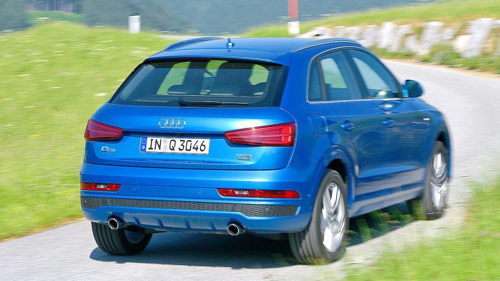 Audi Q3 zaga pilotos