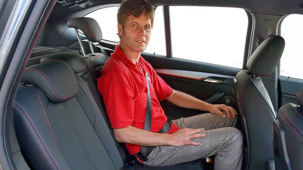 BMW X1 detalle traseras
