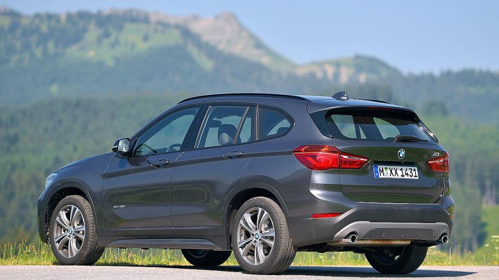 BMW X1 detalle zaga