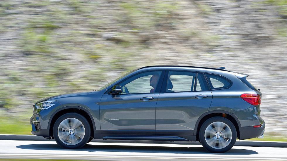 BMW X1 detalle barrido