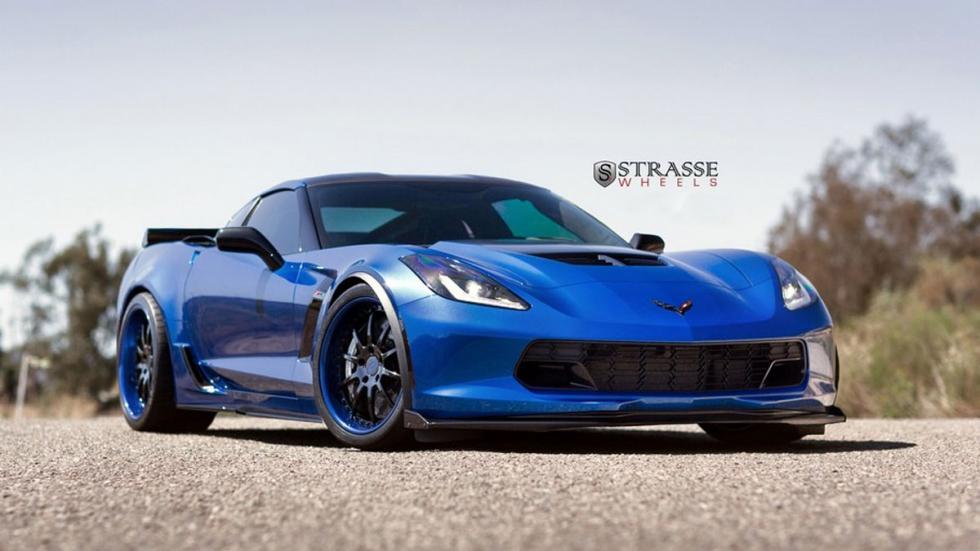 Corvette Z07 Blue Jet delantera