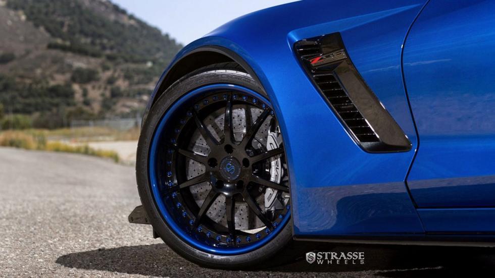 Corvette Z07 Blue Jet llantas