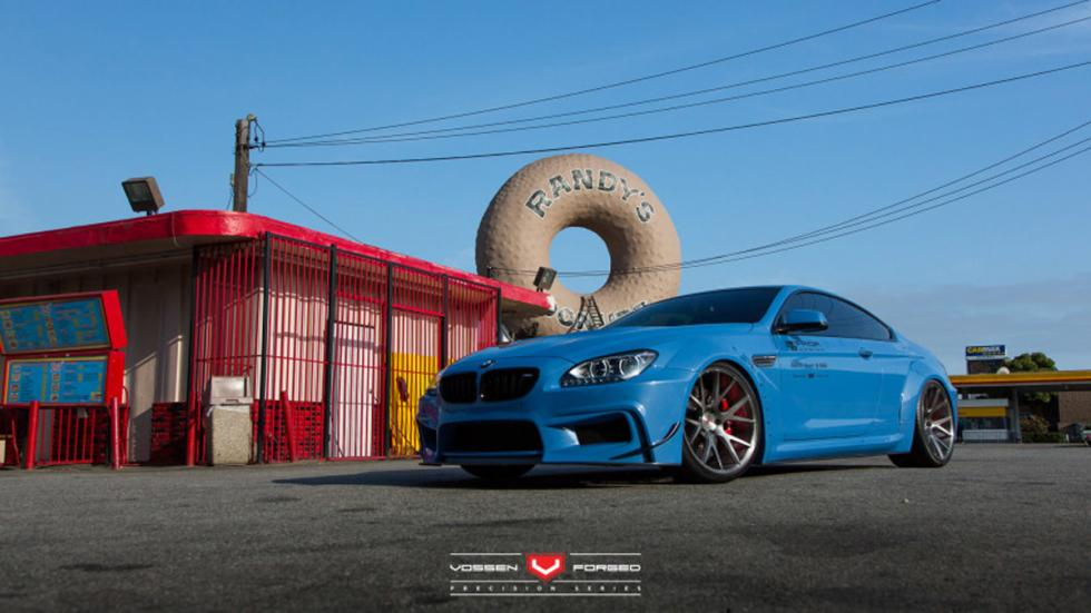 BMW 650i prior design azul