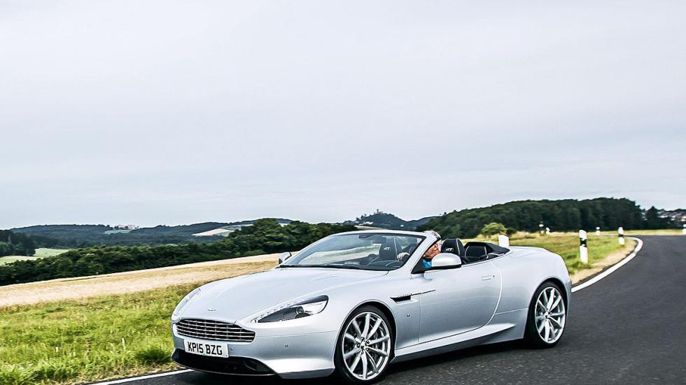 Prueba: Aston Martin DB9 GT Roadster. Un cabrio para soñar curva