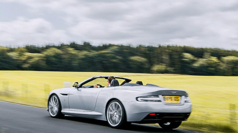Prueba: Aston Martin DB9 GT Roadster. Un cabrio para soñar lateral zaga
