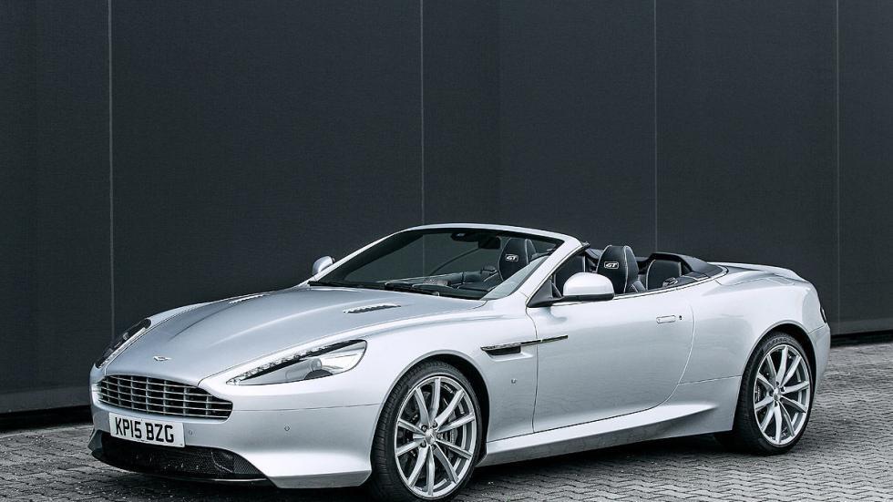 Prueba: Aston Martin DB9 GT Roadster. Un cabrio para soñar lateral parado