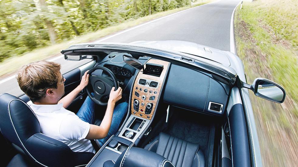 Prueba: Aston Martin DB9 GT Roadster. Un cabrio para soñar