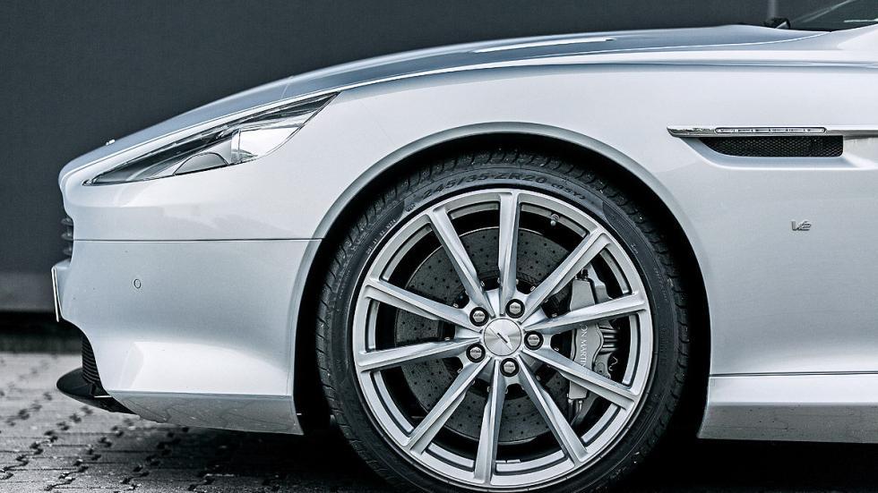 Prueba: Aston Martin DB9 GT Roadster. Un cabrio para soñar lateral llanta