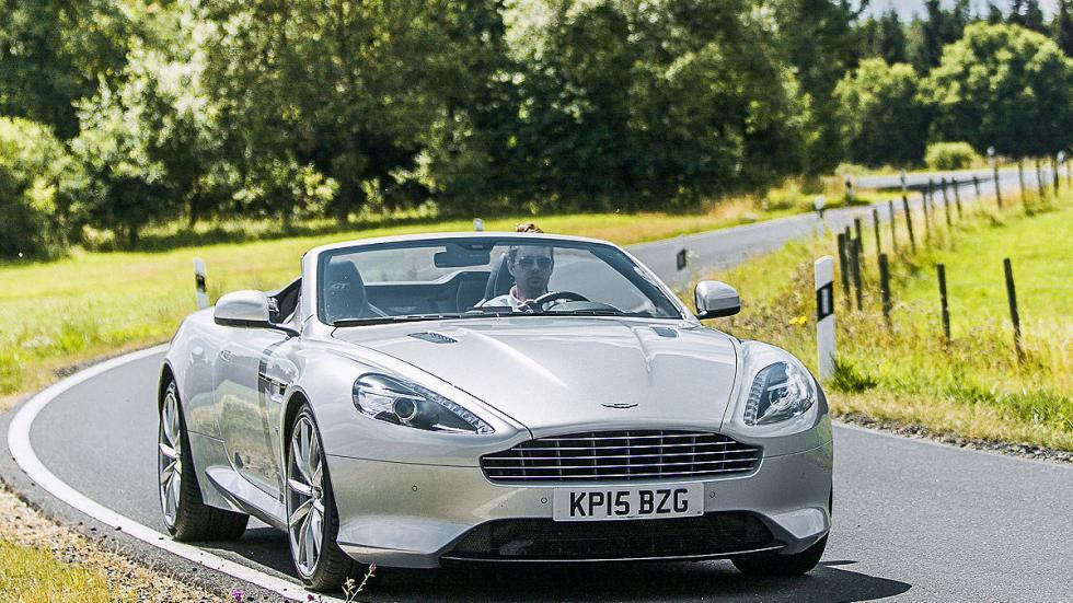 Prueba: Aston Martin DB9 GT Roadster. Un cabrio para soñar morro