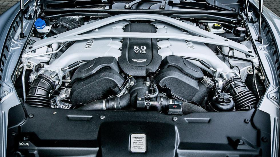Prueba: Aston Martin DB9 GT Roadster. Un cabrio para soñar morro motor