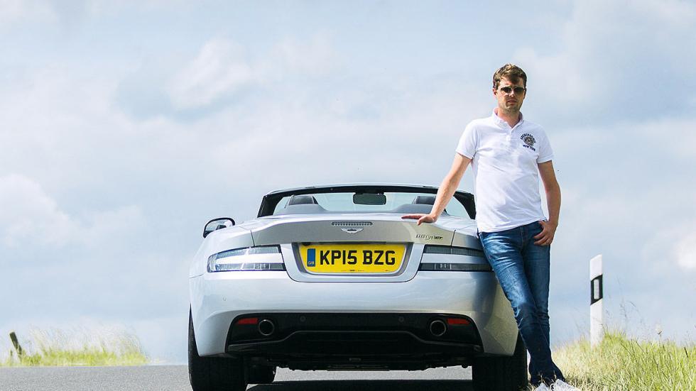Prueba: Aston Martin DB9 GT Roadster. Un cabrio para soñar redactor