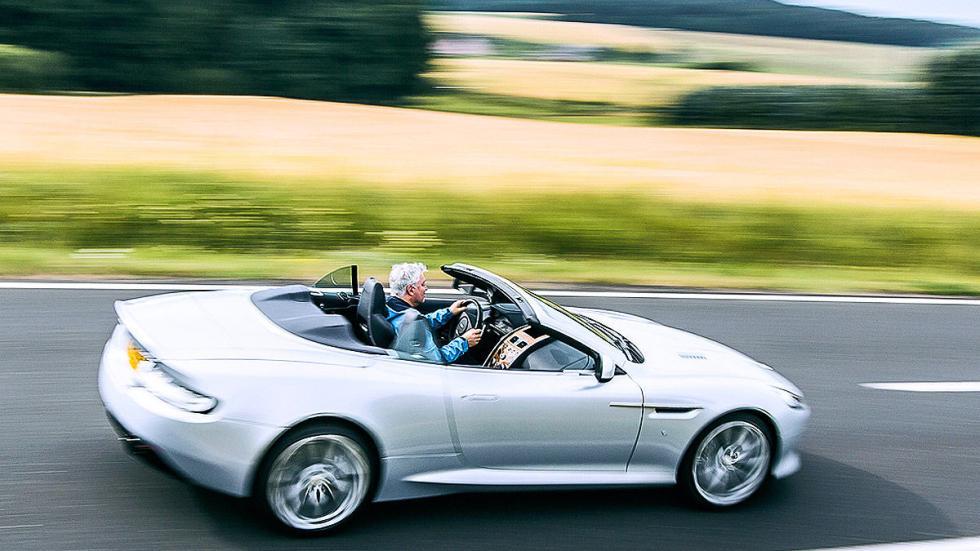 Prueba: Aston Martin DB9 GT Roadster. Un cabrio para soñar carretera