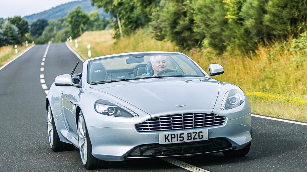 Prueba: Aston Martin DB9 GT Roadster. Un cabrio para soñar frontal