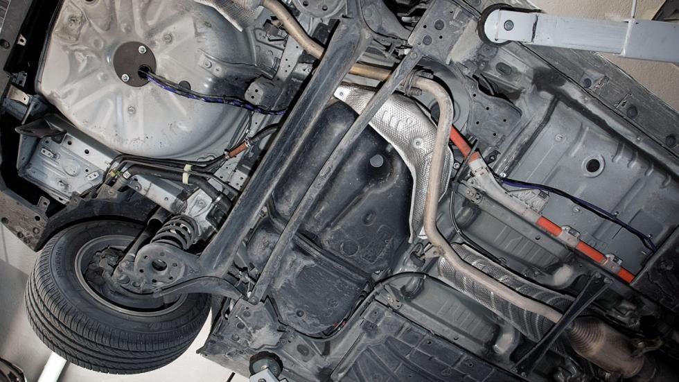 tanque de glp conectado al motor