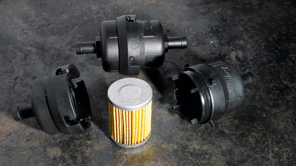Filtros especiales para motores de GLP, cuestan 30 euros